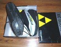 Отдается в дар Лыжные ботинки Fischer с системой крепления SNS