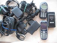 Отдается в дар Зарядки и телефоны на запчасти