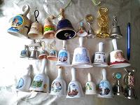 Отдается в дар Коллекция колокольчиков из разных стран и городов
