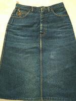 Отдается в дар Юбка джинсовая р.48