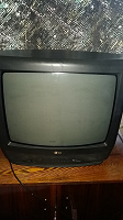 Отдается в дар Телевизор старенький LG CT-20F35M