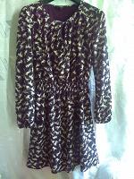 Отдается в дар Платье шифоновое с длинным рукавом