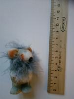 Отдается в дар Мелкие статуэтки: пушистый мышь и кружка