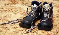 Отдается в дар Лыжные ботинки детские, размер 26