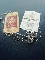 Отдается в дар Маленькой моднице серьги и кулон серебро