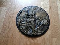 Отдается в дар Гравюра Прага