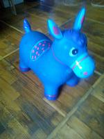 Отдается в дар Игрушка лошадь-попрыгун