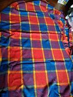 Отдается в дар Шерстяное одеяло-покрывало