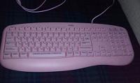 Отдается в дар Клавиатура для блондинки