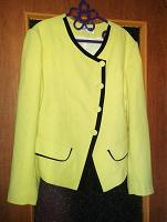 Отдается в дар Жакет (пиджак) желтый 46 раз.
