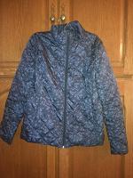 Отдается в дар Куртка женская новая темно-синяя