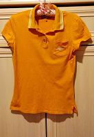 Отдается в дар Оранжевая футболка поло