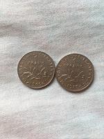 Отдается в дар 2 франка