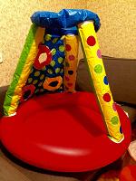 Отдается в дар Детский надувной бассейн на 1 годик