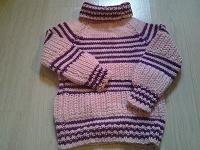 Отдается в дар Вязаный свитер детский