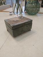 Отдается в дар Шкатулка каменная без ножки