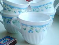 Отдается в дар 5 чайных чашек с милым рисунком