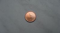 Отдается в дар Монета 1 евроцент 2009 Словения Аист