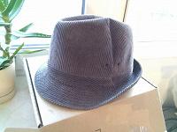 Отдается в дар шляпа серая