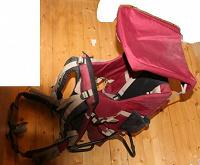 Отдается в дар Рюкзак для переноски ребенка до двух лет примерно