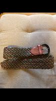 Отдается в дар Широкий плетёный ремень