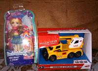 Отдается в дар Игрушки для мальчика и девочки