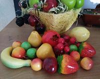Отдается в дар весенний букет из фруктов