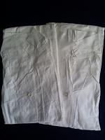 Отдается в дар Два новых белых халата