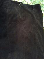 Отдается в дар Женская юбка вельветовая