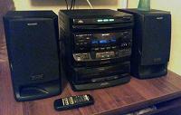 Отдается в дар Музыкальный центр Sharp CD-C570