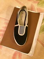 Отдается в дар туфли из текстиля