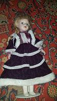 Отдается в дар Форфоровая кукла