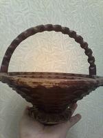 Отдается в дар Ваза деревянная для конфет или фруктов