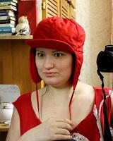 Отдается в дар Красная шапочка-непродувайка