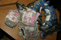 Отдается в дар роликовые коньки для девочки