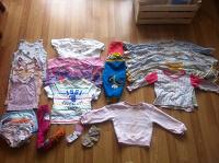 Отдается в дар Детская одежда пакетом для дома с 1-2