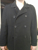 Отдается в дар Пальто мужское демисезонное 54-56.