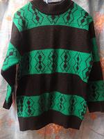 Отдается в дар зеленый свитер