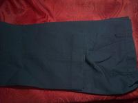 Отдается в дар Синие школьные брюки на дев.146см