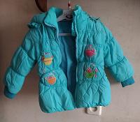 Отдается в дар Куртка для девочки 98