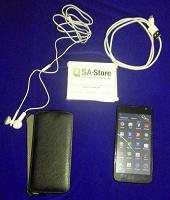 Отдается в дар Полностью рабочий смартфон «ZTE LEO S1», но с трещинками на экране.