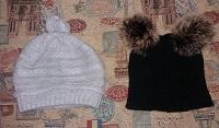 Отдается в дар Зимние шапочки