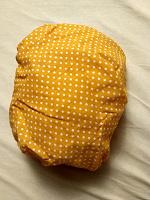 Отдается в дар Простынь на резинке но круглую кроватку