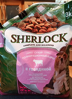Отдается в дар Корм для собак — Шерлок 3кг.