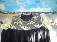 Отдается в дар Праздничное черное платье 42р.