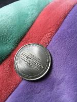 Отдается в дар Монета в коллекцию с автографом Надаля