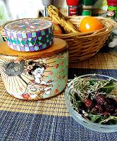 Отдается в дар Рукодельная баночка с травяным чаем