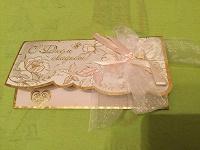 Отдается в дар Открытки-конверты для денег на свадьбу
