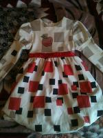 Отдается в дар Платье на девочку 5-6 лет.
