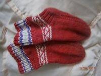 Отдается в дар Еще одни носочки ручной работы для Малыша!!!